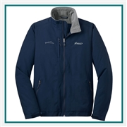 Eddie Bauer Men's Fleece Lined Jacket EB520 with Custom Logo, Eddie Bauer Embroidered Fleece Jackets, Eddie Bauer Co-Branded Logo Gear