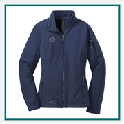 Eddie Bauer Ladies Soft Shell Jacket EB531 with Custom Embroidery, Eddie Bauer Custom Soft Shell Jackets, Eddie Bauer Custom Logo Gear