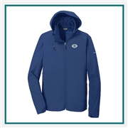 Eddie Bauer Men's Hooded Soft Shell Parka EB536 Embroidered Logo