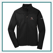 Eddie Bauer Men's Weather-Resist Soft Shell Jacket EB538 with Custom Embroidery, Eddie Bauer Custom Soft Shell Jackets, Eddie Bauer Custom Logo Gear