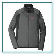 Eddie Bauer Men's Trail Crosshatch Soft Shell Jacket EB542 with Custom Logo