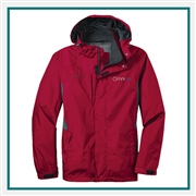 Eddie Bauer Rain Jacket Custom Embroidery