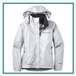 Eddie Bauer Ladies Shaded Rain Jacket EB551 with Custom Embroidery, Eddie Bauer Custom Waterproof Jackets, Eddie Bauer Custom Logo Gear