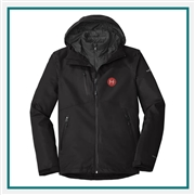 Eddie Bauer Men's WeatherEdge Plus 3-in-1 Jacket with Custom Embroidery, Eddie Bauer Custom Waterproof Jackets, Eddie Bauer Custom Logo Gear