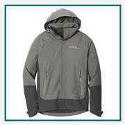 Eddie Bauer Men's WeatherEdge Jacket Jacket EB558 with Custom Embroidery, Eddie Bauer Custom Rain Jackets, Eddie Bauer Custom Logo Gear