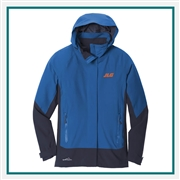Eddie Bauer WeatherEdge Jacket Company Logo