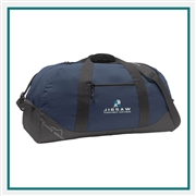 Eddie Bauer Large Ripstop Duffel Bag Custom Branded