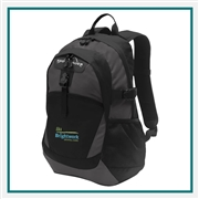 Eddie Bauer Ripstop Backpack EB910 with Custom Embroidery, Eddie Bauer Custom Backpacks, Eddie Bauer Corporate Logo Gear