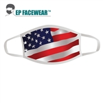 American Flag Performance Face Mask Printed