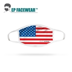 American Flag Performance Face Mask Custom