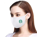 100% Cotton Face Mask Custom Logo