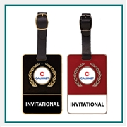 Translucent Metal Bag Tag, Custom Metal Golf Bag Tags, Promotional Metal Bag Tags, Custom Logo Bag Tags, Custom Golf Bag Tags, Custom Metal Luggage Tags