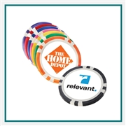 Poker Chip Ballmarker Custom Logo