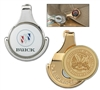 Magnetic Ball Marker Caddy with Custom Logo, Personalized Ballmarkers, Promotional Ball Markers