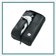 Eisinger Smith Golf Leather Shoe Bag with Custom Logo, Eisinger Smith Custom Logo Golf Shoe Bags, Eisinger Smith Corporate Bags