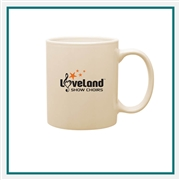 11 Oz. C-Handle Mug with Custom Printed Logo, C-Handle Mug Custom Branded, 101,  114, Custom Coffee Mugs