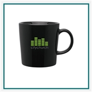 14 Oz Enzo Coffee Mug with Custom Printed Logo, Enzo Custom Branded, 1051, 150, Custom Coffee Mugs