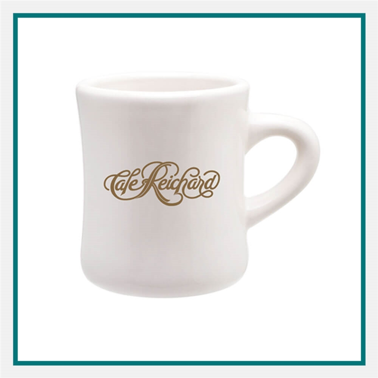10 Oz Diner Mug Add Your Logo