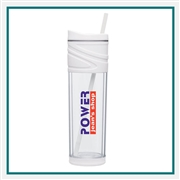 16 Oz. Acrylic Melrose Tumbler with Custom Printed Logo, Gulp Custom Branded, 12884, 12881, Custom Acrylic Tumblers