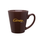 12 Oz Mini Latte Mug with Custom Printed Logo, Mini Latte Mug Custom Branded, 1301,  1314, Custom Coffee Mugs