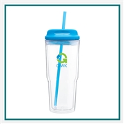 24 Oz. Acrylic Gulp Tumbler with custom Logo,  Gulp Tumbler Imprinted
