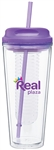 20 Oz. Acrylic Infuse Tumbler with Corporate Logo,  Acrylic Infuse Tumbler, custom drinkware buy online, Promotional Acrylic Drinkware