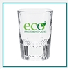 2 Oz Clear Shot Glass with Custom Printed Logo, Cordial Glass Custom Branded, 211,  Custom Shot Glasses