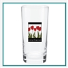 12.5 Oz Beverage Glass with Custom Printed Logo, Beverage Glass Custom Branded, 213,  Custom Glasses