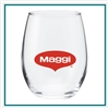 15 Oz Perfection Stemless Wine Glass with Custom Printed Logo, Perfection Glass Custom Branded, 215, Custom Wine Glasses