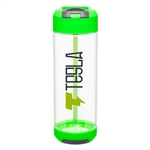 H2GO 20.9 Oz Port Water Bottle Custom Logo