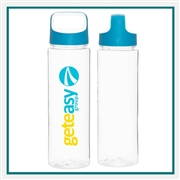 H2GO 27 Oz Elevate Water Bottle Company Logo