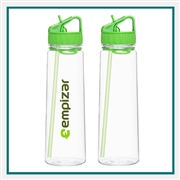 H2GO 'Angle' 30 Oz. BPA Free Acrylic Water Bottle with Custom Printed Logo, H2GO Angle 30 Oz. Custom Logo Bottle, H2GO Custom Logo Drinkware, H2GO Corporate Drinkware