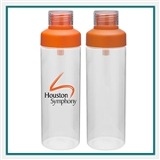 H2GO Strap with Custom Printed Logo, H2GO 25 Oz Strap. Custom Logo Bottle, H2GO Custom Logo Drinkware, H2GO Corporate Drinkware
