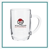 20 Oz Haworth Mug with Custom with Custom Logo  Glass Mug, ETS Express Item Number 311, Custom printed mugs