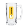 25 Oz Beer Glass Mug with Custom Logo , Custom Logo Beer Glasses, ETS Express Item Number 338, Custom Printed Beer Glassses