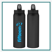 H2GO Allure 28 Oz Aluminum Water Bottle BPA Free Custom
