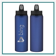 H2GO Allure 28 Oz Aluminum Water Bottle Custom Engraved, H2GO Branded Water Bottles, H2GO Corporate & Group Sales