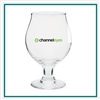 13 Oz Belgian Custom Beer Glass with Custom Logo , Custom Logo Beer Glasses, ETS Express Item Number 3807, Custom Printed Beer Glassses