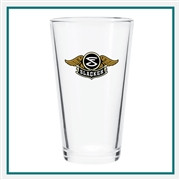 16 Oz Mixing Glass with Custom Logo , Custom Logo Mixing Glasses, ETS Express Item Number 392, Custom Printed Mixing Glassses