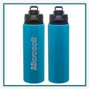 H2GO 28 Oz Surge Water Bottle Custom Engraving, H2GO Surge Custom Branded, H2GO 39544, H2GO 39561, H2GO Custom Water Bottles