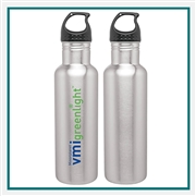 H2GO Bolt 24 oz. Stainless Water Bottle with Custom Printed Logo, H2GO Bolt 24 Oz. Custom Logo Bottle, H2GO Custom Logo Drinkware, H2GO Corporate Drinkware