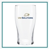 20 Oz Pub Glass with Custom Logo , Custom Logo  Glasses, ETS Express Item Number 4803, Custom Printed Pub Glassses
