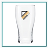 16 Oz Pub Glass with Custom Logo , Custom Logo  Glasses, ETS Express Item Number 4803, Custom Printed Pub Glassses