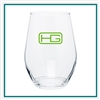 11.5 Oz Concerto Stemless Wine Glass Custom Logo