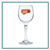 8 oz Perception Wine Glass Custom