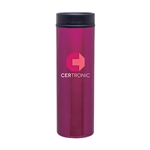 16 Oz. Stainless Steel Montara Tumbler with Corporate Logo, Montara Tumbler, custom drinkware buy online, where to buy Stainless Steel Drinkware