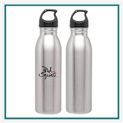 H2GO Solus 24 Oz Stainless Steel with Custom Printed Logo, H2GO Solus 24 Oz. Custom Logo Bottle, H2GO Custom Logo Drinkware, H2GO Corporate