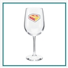 18.5 Oz Vina Tall Wine Glass Custom Logo