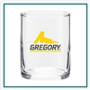 3.5 Oz  Votiv Glass with Custom Logo , Custom Logo Glasses, ETS Express Item Number 763, Custom Printed shot Glasses