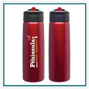 H2GO Hydra 24 Oz Stainless Steel Water Bottle Custom Printing, H2GO Branded Water Bottles, H2GO Corporate & Group Sales